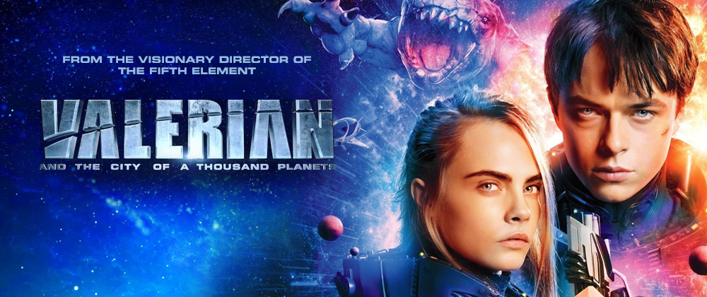 Valerian: City of a Thousand Planets (2D)